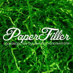 Бумажный наполнитель. Лесной зеленый, 2 мм, 100 гр