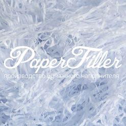 Бумажный наполнитель. Белый, 2 мм, 1 кг