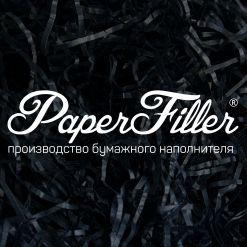 Бумажный наполнитель. Черный, 2 мм, 1 кг