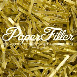 Бумажный наполнитель. Majestic Настоящее золото, 2 мм, 1 кг