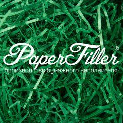 Бумажный наполнитель. Curious Зеленый, 2 мм, 1 кг