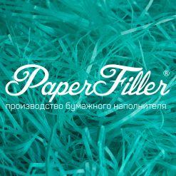 Бумажный наполнитель. Изумрудный, 2 мм, 50 гр