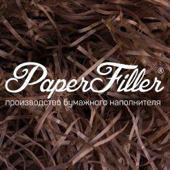 Бумажный наполнитель. Коричневый, 2 мм, 50 гр