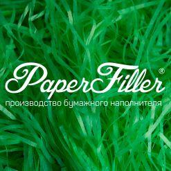 Бумажный наполнитель. Светло-зеленый, 2 мм, 50 гр