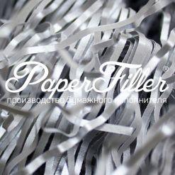 Бумажный наполнитель. Majestic Настоящее серебро, 2 мм, 50 гр