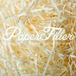 Бумажный наполнитель. Curious Белое золото, 2 мм, 50 гр