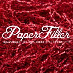 Бумажный наполнитель. Majestic Красный, 2 мм, 500 гр