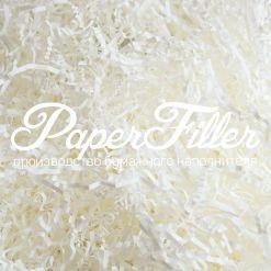 Бумажный наполнитель. Белый пергамин (40 гр/м2), 2 мм, 50 гр
