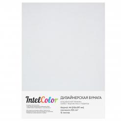 Дизайнерская бумага Majestic Marble white Белый мрамор (120 гр/м2, формат А4, 10 листов)