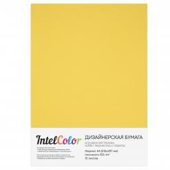 Дизайнерская бумага Majestic Mellow Yellow, Сияние золота (120 гр/м2, формат А4, 10 листов)