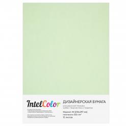 Дизайнерская бумага Majestic Fresh Mint, Свежая мята (120 гр/м2, формат А4, 10 листов)