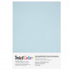 Дизайнерская бумага Majestic Damask Blue, Небо Дамаска (120 гр/м2, формат А4, 10 листов)