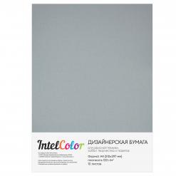 Дизайнерская бумага Majestic Moonlight Silver, Лунное серебро (120 гр/м2, формат А4, 10 листов)