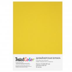 Дизайнерская бумага Majestic Gold, Золотой сатин (120 гр/м2, формат А4, 10 листов)
