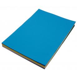Набор цветной бумаги Intelcolor Mix 20 цветов 20 листов (10 упаковок)