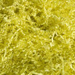 Бумажный наполнитель. Лимонно-желтый, 3 мм, 1 кг