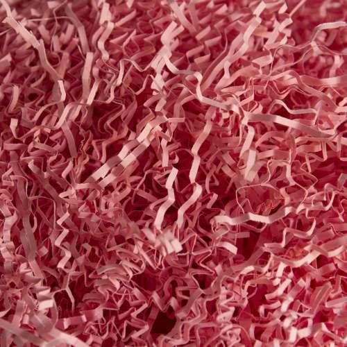 Бумажный наполнитель. Розовый, 2 мм, 100 гр