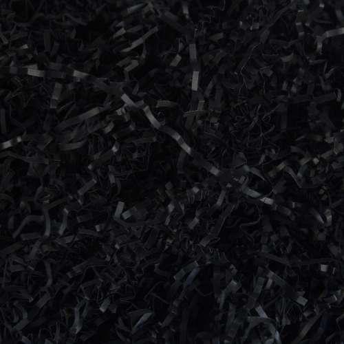 Бумажный наполнитель. Черный, 2 мм, 100 гр