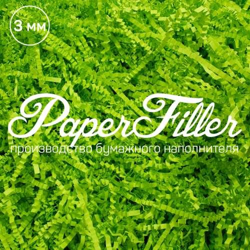 Бумажный наполнитель. Зеленая липа, 3 мм, 1 кг