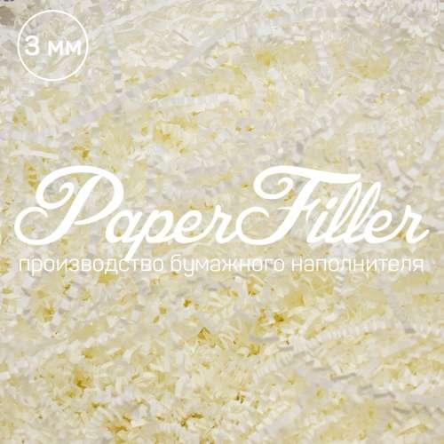 Бумажный наполнитель. Белый, 3 мм, 1 кг
