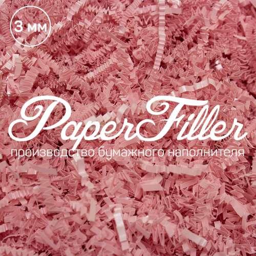 Бумажный наполнитель. Majestic Розовый, 3 мм, 50 гр
