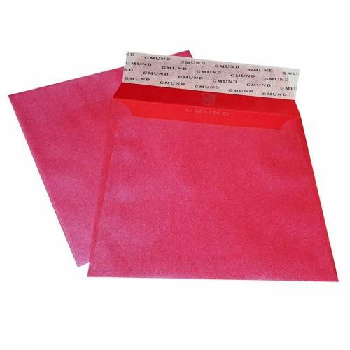 Конверт 165х165 мм. квадратный GMUND REACTION бумага с перламутровым эффектом металлик 110 гр., Германия
