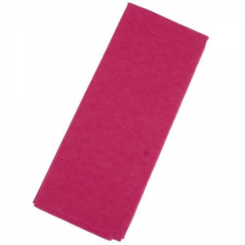 Бумага тишью  76х50см,10 лист. , амарантовая
